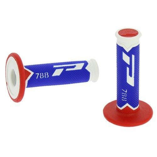 Pro Grip 788 Grips White Blue Red - Even Strokes