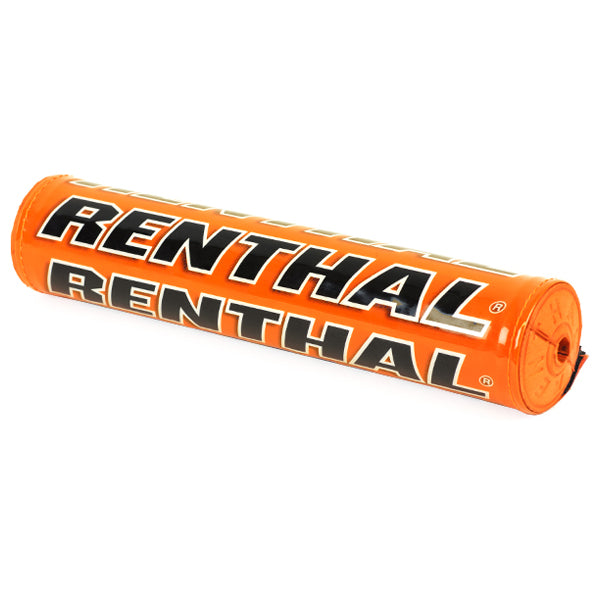 Renthal SX Bar Pad Solid Orange Black - Even Strokes