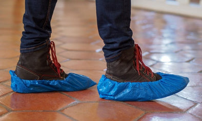 When To Wear Shoe Covers in Home Construction