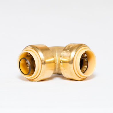 Brass Push Fit Style Elbow