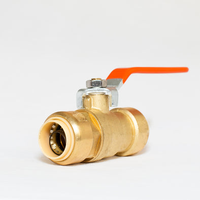 Brass Push Fit Stlye Ball Valve