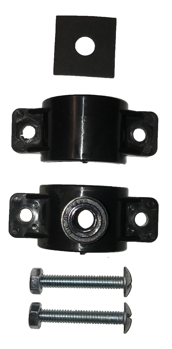"Quick-Connect, Polypropylene, 3/8"" Saddle Drain Clamp, For RO Drain, RO"