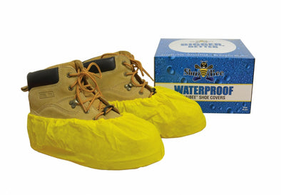 ShuBee Waterproof Shoe Covers - Yellow (40 Pair)