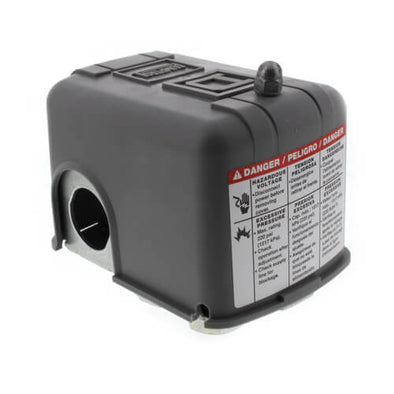 Pressure Switch, 20/40M4 PSI, w/Manual & Low Pressure Shut Off, Square D