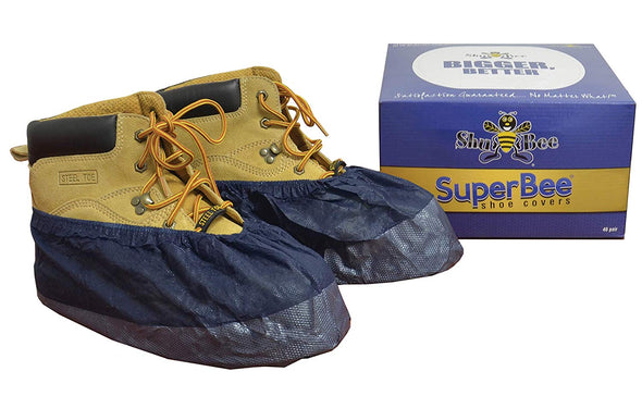ShuBee SuperBee Shoe Covers - Midnight Blue (40 Pair)