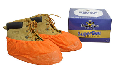 ShuBee SuperBee Shoe Covers - Orange (40 Pair)