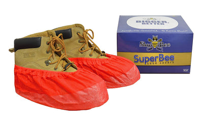 ShuBee SuperBee Shoe Covers - Red (40 Pair)
