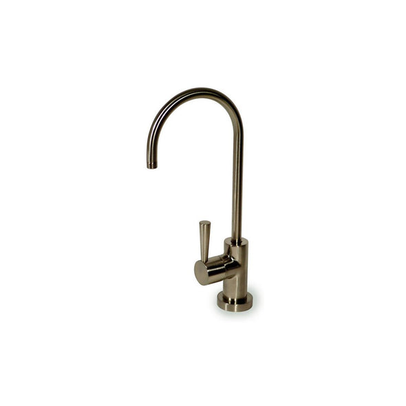 "Euro Style Faucet 1/4"" Brushed Nickle Lead Free (EF-97-CC-BN)"
