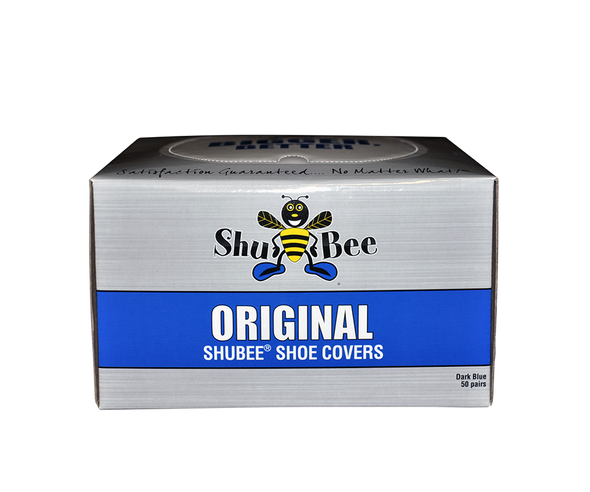 ShuBee Original Shoe Covers, White (50 Pair)