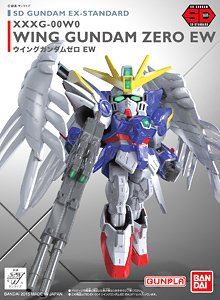SD Gundam Wing Zero EW STD 004 Model Kit