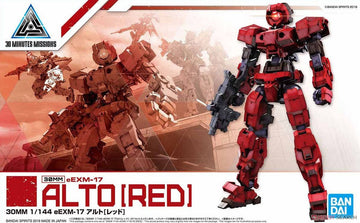 30MM BEXM-17 Alto Red 1/144 Model Kit