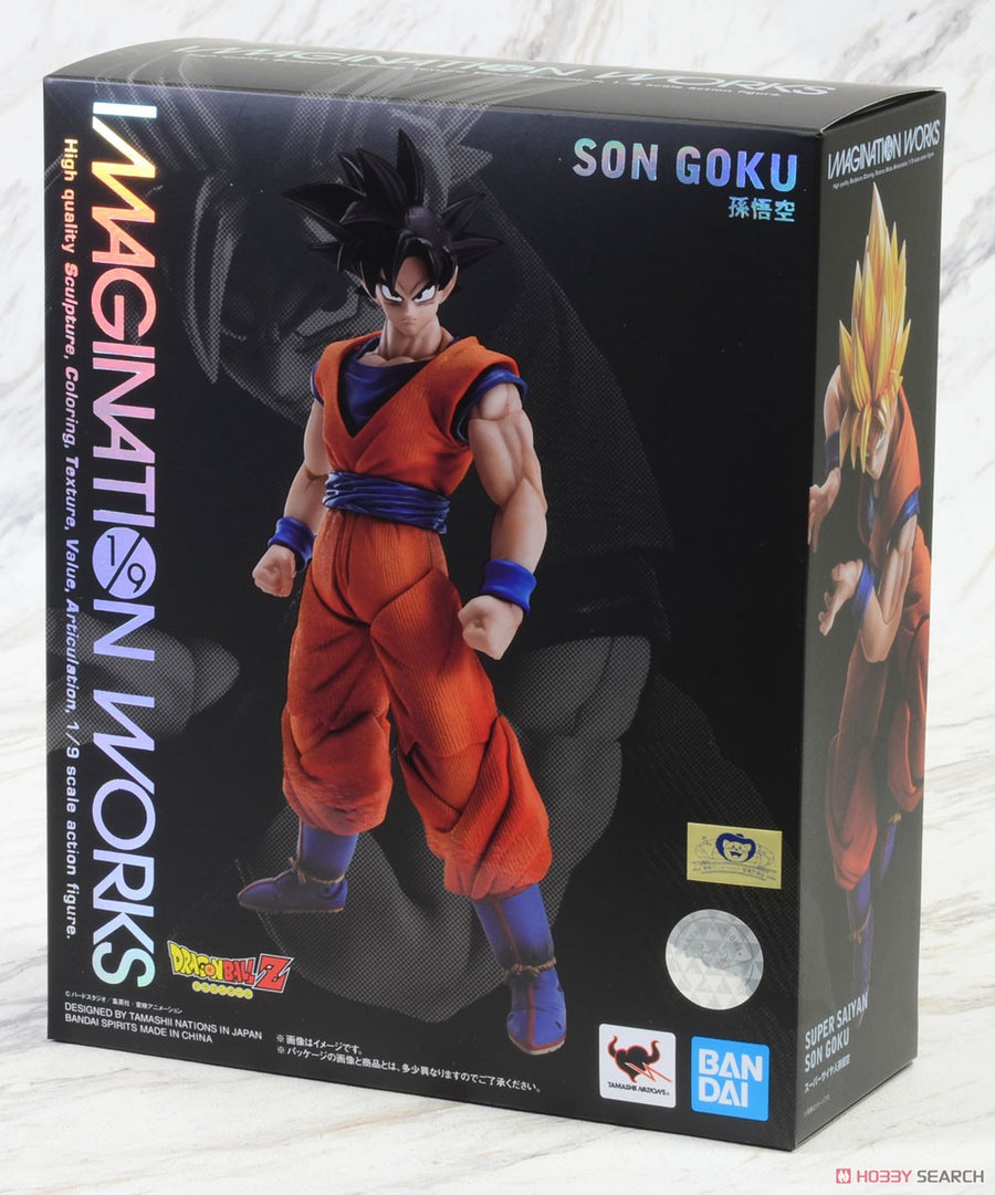 Dragon Ball Z Imagination Works Son Goku Action Figure