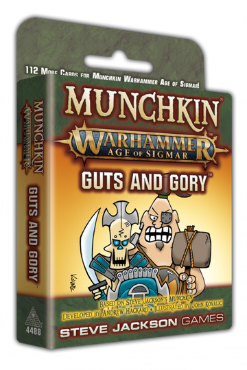 Munchkin Warhammer Age of Sigmar Guts and Glory