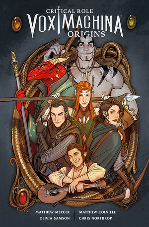 CRITICAL ROLE VOX MACHINA ORIGINS VOL 1