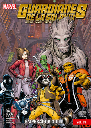 Guardians of the Galaxy Emperor Quill Volume 1