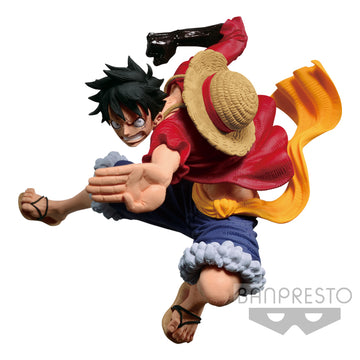 One Piece SCultures Figure Colosseum Monkey D Luffy Banpresto