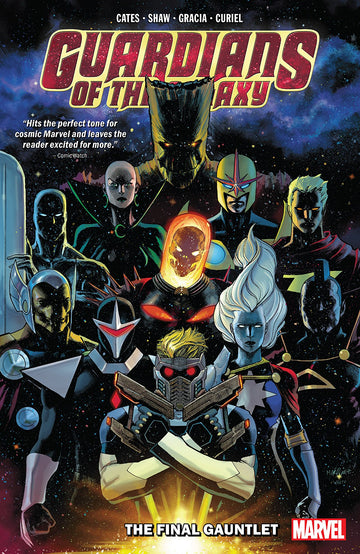 Guardians Of The Galaxy Volume 1 Final Gauntlet