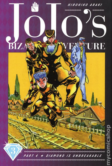 Jojo's Bizarre Adventure Part 4 Volume 3 HC