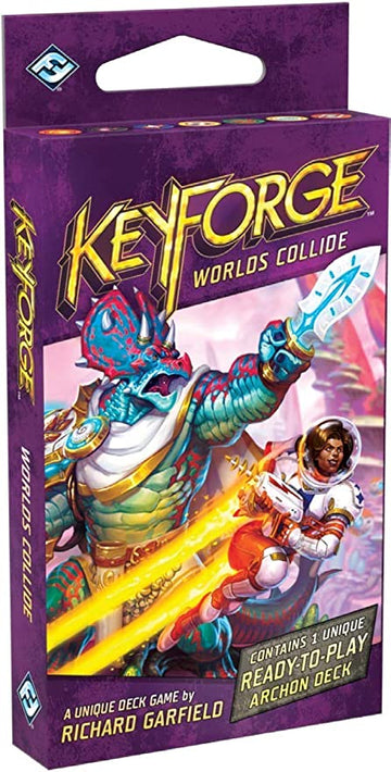 KeyForge Worlds Collide