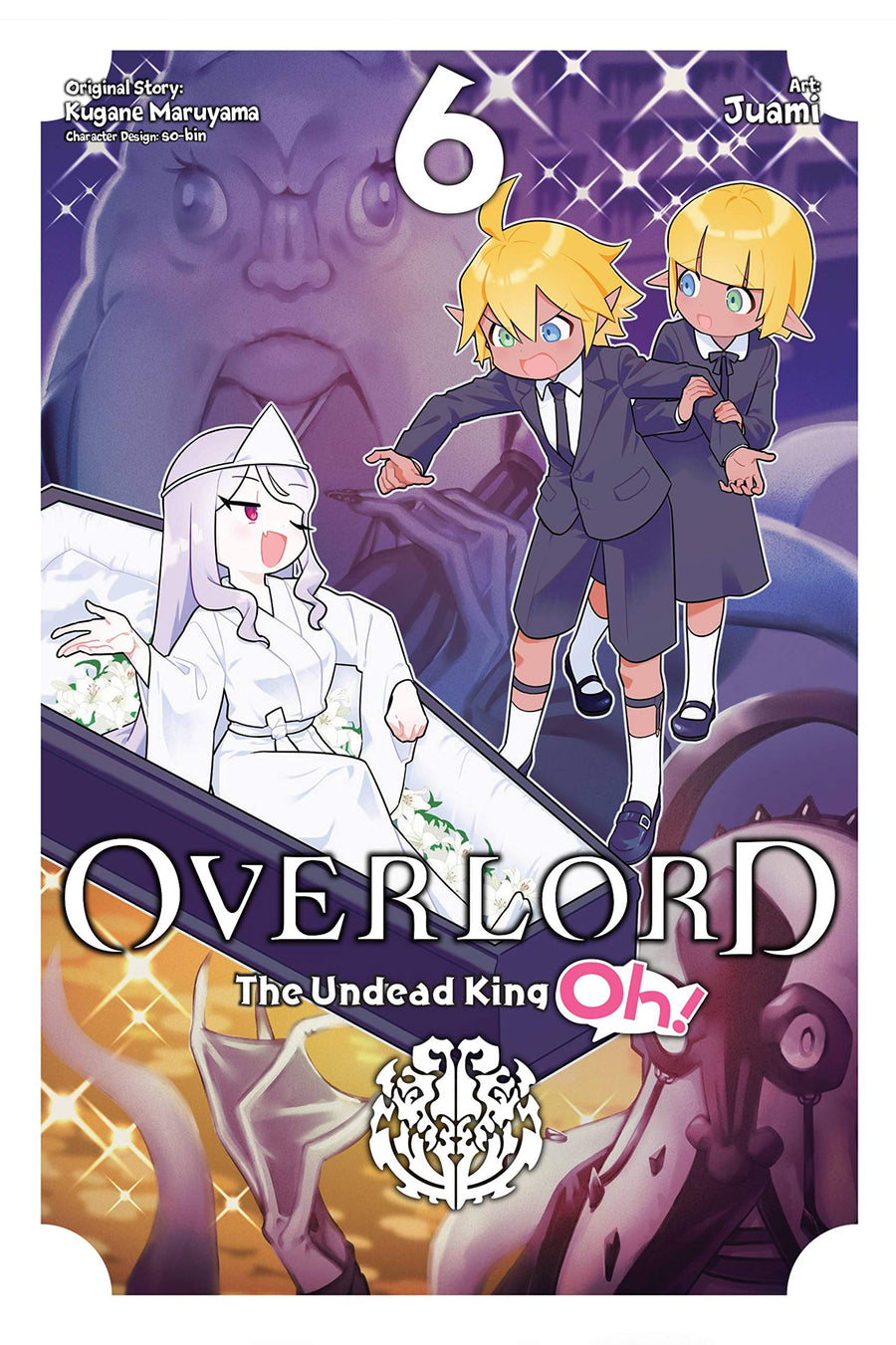 Overlord Undead King Oh Volume 6