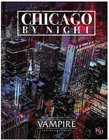 Vampire The Masquerade 5th Edition - Chicago By Night RPG