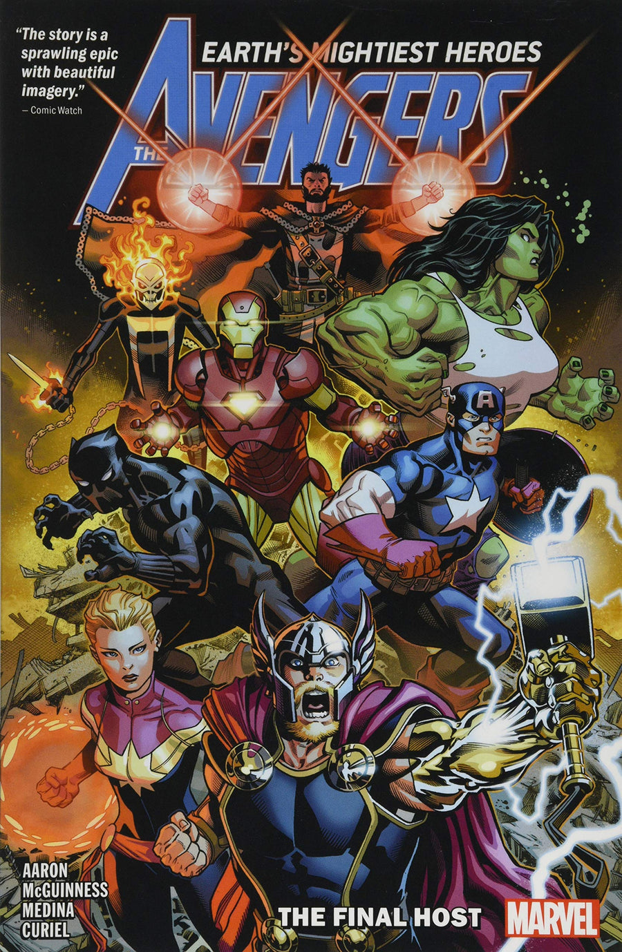 The Avengers The Final Host Volume 1