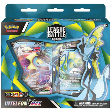 Pokemon TCG Inteleon Vmax League Battle Deck