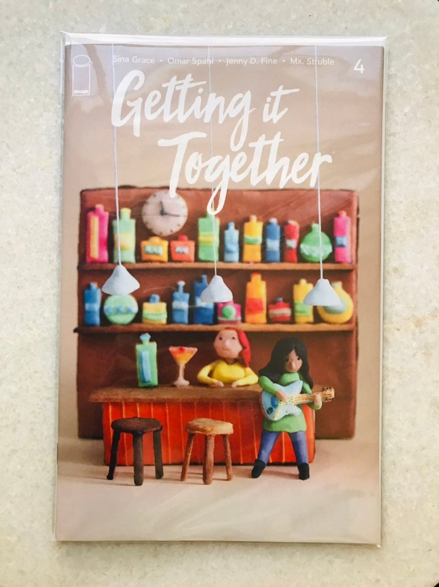 GETTING IT TOGETHER KIM-JOY EXCLUSIVE VARIANT W/ SIGNED BOOKPLATE