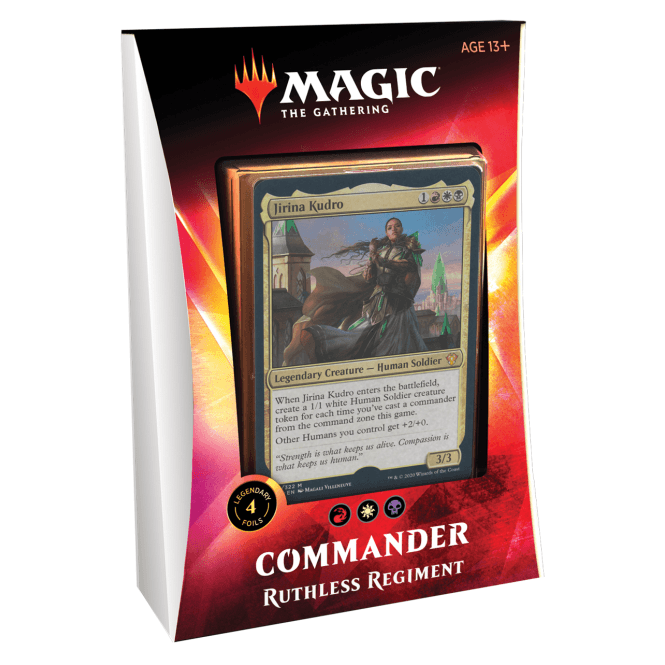 Magic The Gathering Commander 2020 Deck Ruthless Regiment [PRE-ORDER]