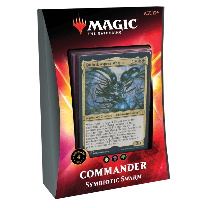 Magic The Gathering Commander 2020 Deck Symbiotic Swarm [PRE-ORDER]