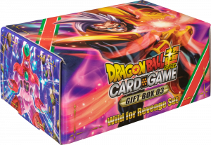 Dragon Ball Super Card Game Gift Box 03 Wild For Revenge Set