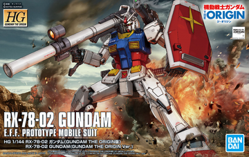 HG Gundam RX-78-2 Origin 1/144 Model Kit