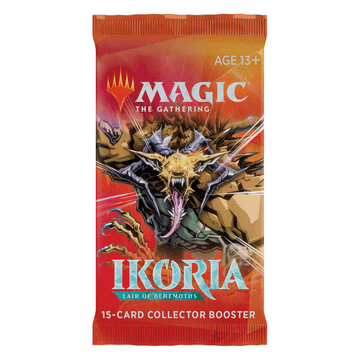 MTG: Ikoria - Lair Of Behemoths Collector Booster Pack [PRE-ORDER]
