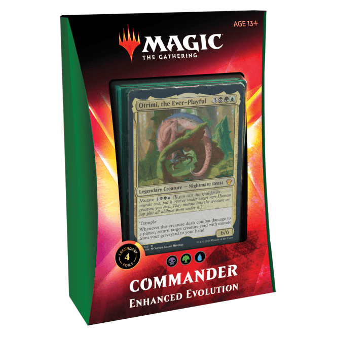 Magic The Gathering Commander 2020 Deck Enhanced Evolution [PRE-ORDER]