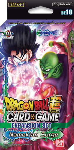 DRAGON BALL SUPER CG EXPANSION SET BE010 - NAMEKIAN SURGE