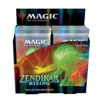 Magic The Gathering Zendikar Rising Collector Booster Display