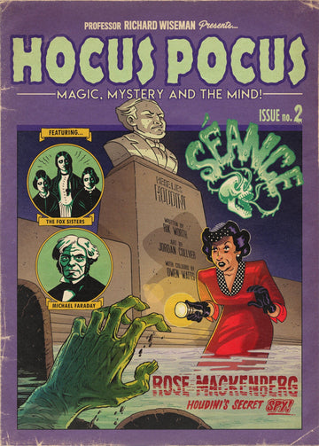 HOCUS POCUS MAGIC MYSTERY AND THE MIND ISSUE #2