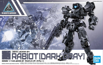 30MM EEXM-21 Rabiot Dark Gray 1/144 Model Kit