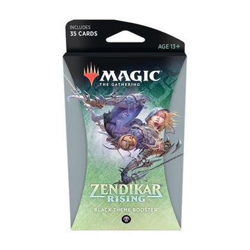 Magic The Gathering Zendikar Rising Theme Booster Black