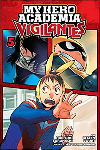 My Hero Academia Vigilantes Volume 5