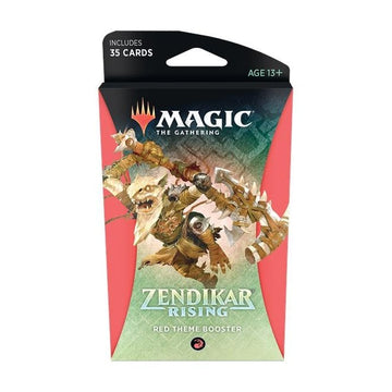 Magic The Gathering Zendikar Rising Theme Booster Red
