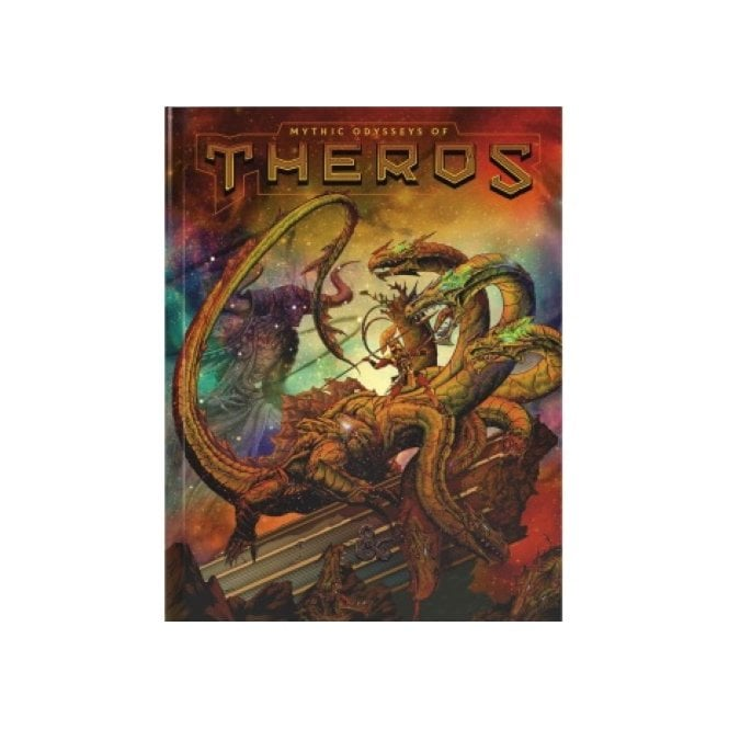 Dungeons & Dragons Mythic Odysseys Of Theros Limited Edition Alternate Cover