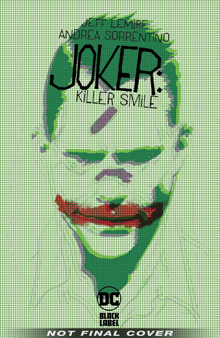 Joker Killer Smile Hardcover
