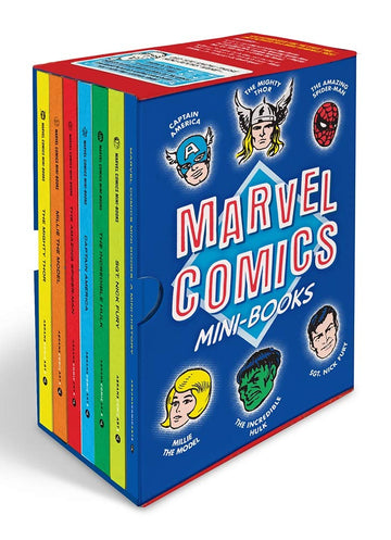 Marvel Comics Mini Books