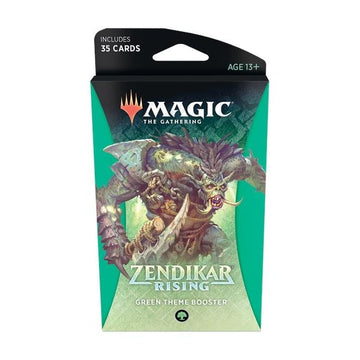 Magic The Gathering Zendikar Rising Theme Booster Green