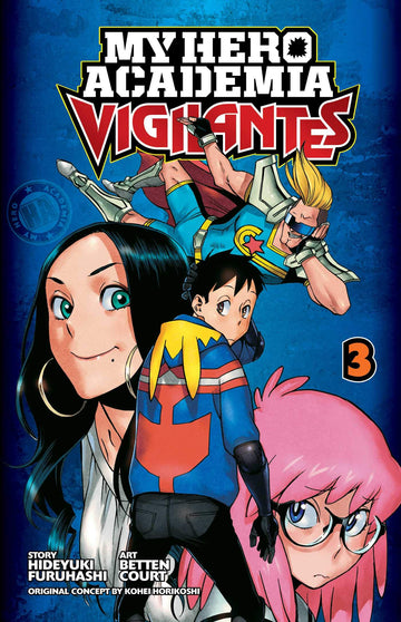 My Hero Academia Vigilantes Volume 3