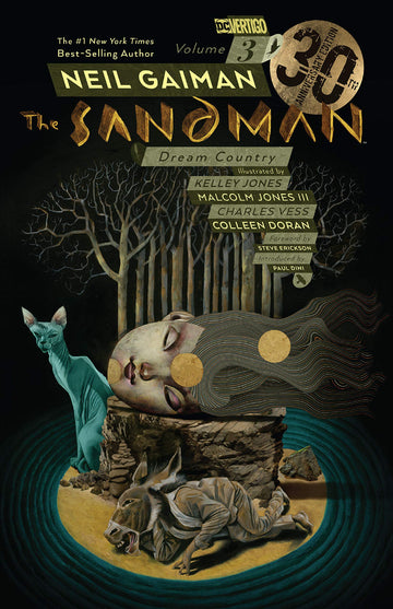 The Sandman Volume 3 Dream Country 30th Anniversary Edition