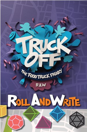 Truck Off Food Truck Frenzy Roll & Write