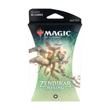 Magic The Gathering Zendikar Rising Theme Booster White