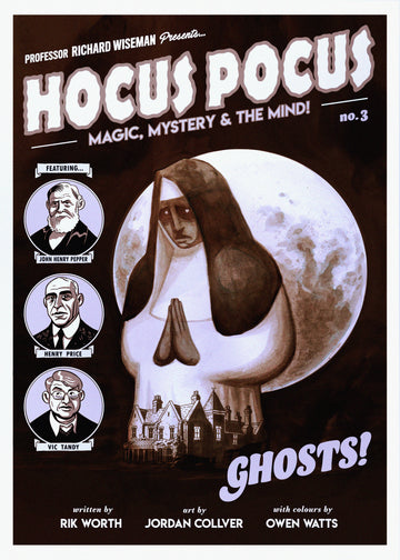 Hocus Pocus Magic Mystery and the Mind - Issue #3